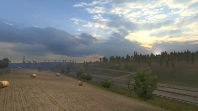 "ETS 2 ""Realistic Weather"""