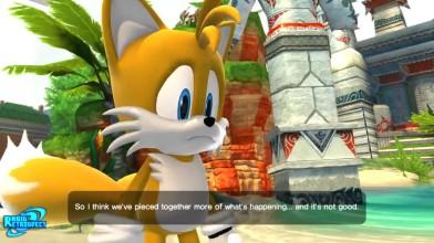 Sonic Generations - Все катсцены