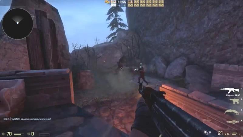 Битва с когтем смерти! - хардкорное выживание в CS:GO