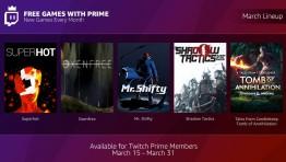 Подписчики Twitch Prime будут получать бесплатные игры