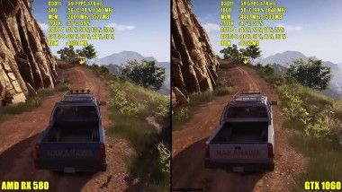 Ghost Recon Wildlands GTX 1060 Vs AMD RX 580 Сравнение