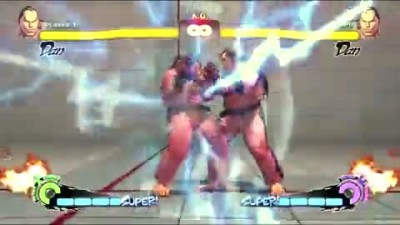 "Super Street Fighter 4 ""Super and Ultra Combos Exhibition (Part1of2)"""