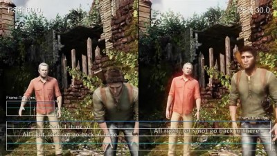 "Uncharted 3: Drake's Deception ""Тест частоты кадров PS4 vs PS3 (DigitalFoundry)"""