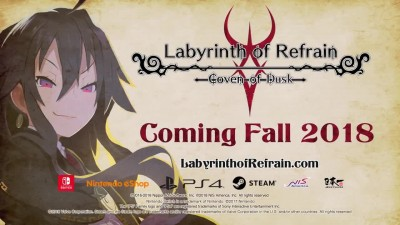 Labyrinth of Refrain Coven of Dusk - Трейлер