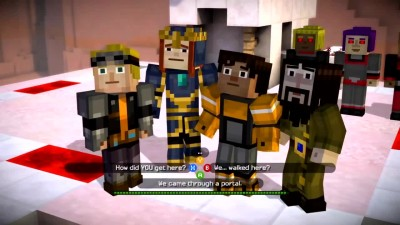 Minecraft Story Mode (Bro Team Pill)