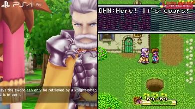 Secret of Mana Анализ ремейка! SNES vs PS4/Pro/PC/Vita!