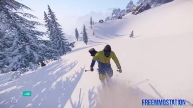 Snow (Free Online Sports Game) - первый геймплей