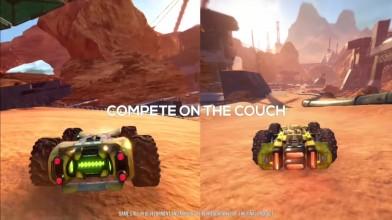 GRIP: Combat Racing - представлен новый трейлер футуристической гонки в версии для Nintendo Switch