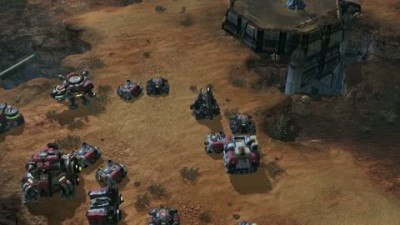 "StarCraft 2 ""Terratron Transform Gameplay"""