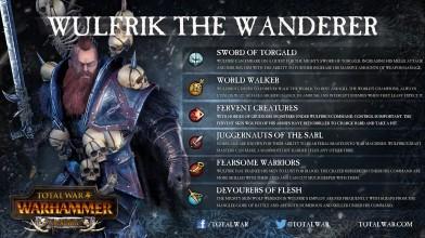 Total War: WARHAMMER - Скиллы Вульфрика Странника