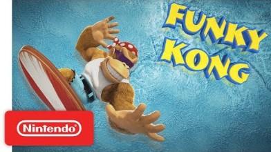 Фанки и Донки Конга показали в новом видео Donkey Kong Country: Tropical Freeze