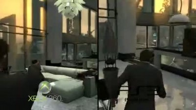 "Max Payne 3 ""PS3 vs XBOX 360"""