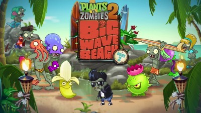 Plants vs. Zombies 2 - Big Wave Beach Part 2