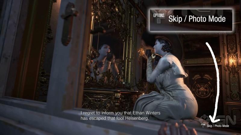 В Resident Evil Village будет фоторежим. Игроки увидели интересную деталь