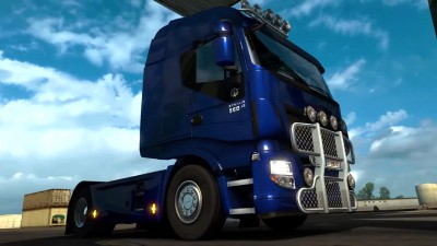 "ETS 2 ""Обзор DLC Fan Pack Michelin"""