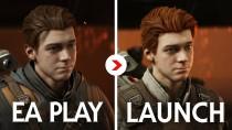 Релизную версию Star Wars: Jedi Fallen Order сравнили с версией, показанной на EA Play