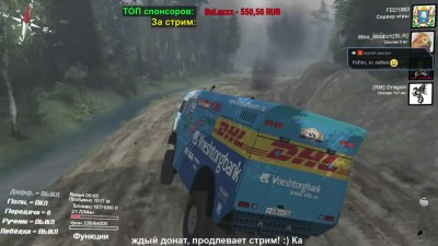 SPINTIRES  Гонки за ключ 2