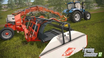 Техника от KUHN прибыла в Farming Simulator 17 вместе с новым DLC
