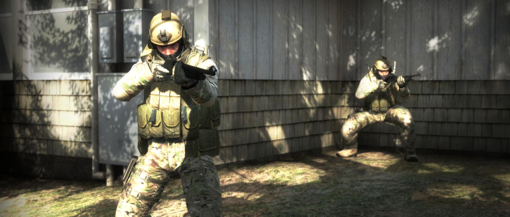 Фанат CS:GO сделал эффектный скин для MP5