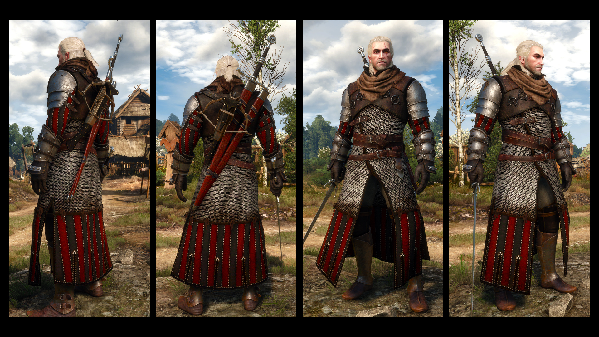 Броня Волко-медь для The Witcher 3: Wild Hunt - Скриншот 2