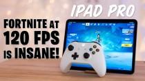 Геймплей Fortnite на iPad Pro со 120 FPS
