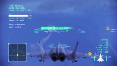 Ace Combat Infinity Hamilton Vs MTD-SP