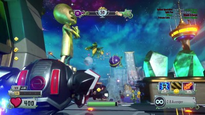 Plants vs. Zombies Garden Warfare 2 - Grass Effect Z7-Mech Gameplay Reveal Trailer