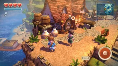 Oceanhorn: Monster of Uncharted Seas вышла на РС