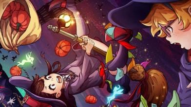 Представлен новый трейлер Little Witch Academia, в игру будет добавлен сетевой режим