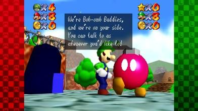 """Super Mario 64 """"Мультиплеер. Часть 1: Who Let The Chomp Out! (2 Игрока)"""