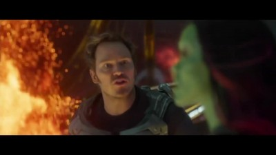 GUARDIANS OF THE GALAXY VOL. 2 Отрезок из фильма - Guardians vs. Monster