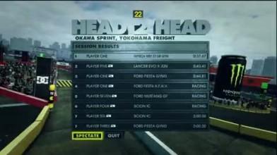 "DiRT Showdown ""Head 2 Head, Yokohama Gameplay"""