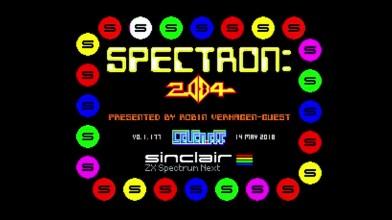 Spectron 2084 - современный клон Robotron 2084 для ZX Spectrum Next
