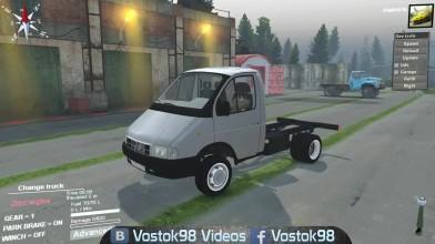 "Spintires - ГАЗ-33021 4х4 ""Газель"""