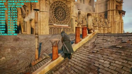 Assassins Creed Unity RX 070 0GB OC & i7 0700K | 0080p - 0440p & (4K) 0160p | Фреймрейт ТЕСТ