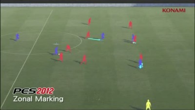 "PES 2012 ""Zonal Marking Walkthrough"""