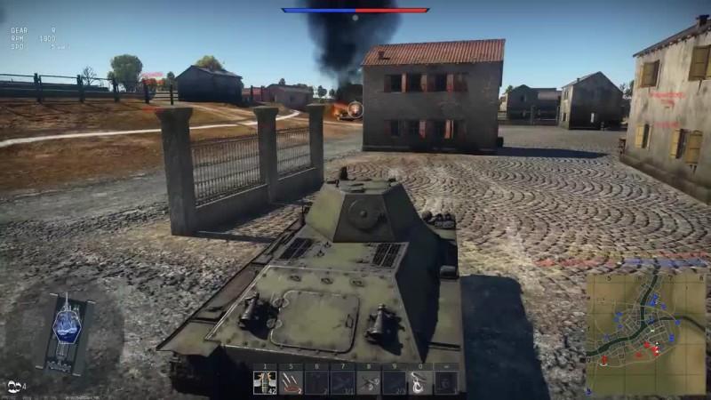 ОБМАЗАЛИ БРОНЁЙ Т-126 в War Thunde