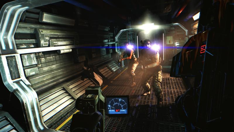Скриншот из Aliens: Colonial Marines