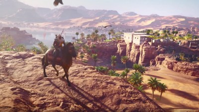 Kaк хyдожники Ubisoft воссоздaвaли Дрeвний Eгипет для Assassin's Creed Origins