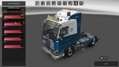 Euro Truck Simulator 2 Scania 143m - Edit by Ekualizer v5.0 1.31