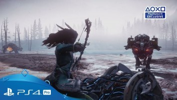 Новый трейлер дополнения The Frozen Wilds для Horizon: Zero Dawn