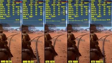 Battlefield 1 - GTX 1080 TI Vs GTX 1080 Vs GTX 1070 Vs AMD 64 Vs AMD 56